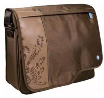 PORT case Designs Macao Messenger Brown 16 160061