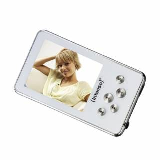 MP3 плеер Intenso Video Driver 4GB white Video Driver white