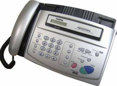 Факсимильный аппарат Brother FAX-236RUS Silver FAX236SR