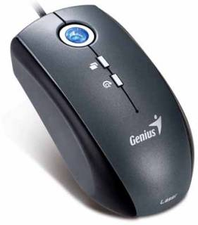 Мышка Genius Traveler 515 Laser USB (Silver-Black) 31011556100
