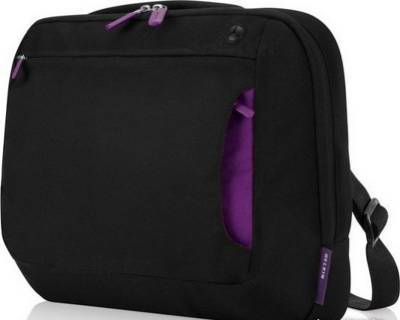 Belkin 10-12' Messenger Bag (jet/royal lilac) F8N097EA088