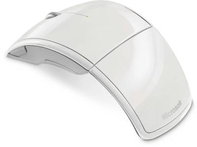 Мышка Microsoft WL Notebook ARC Mouse Mac White ZJA-00048