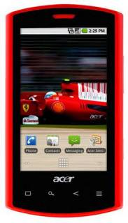 Смартфон Acer Liquid Ferrari Black-Red XP.H4TEN.009