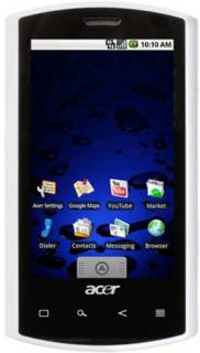 Смартфон Acer Liquid ES100 White froyo XP.H5DEN.010