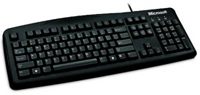 Клавиатура Microsoft Wired Keyboard 200 USB Port Russian Hdwr (Black) JWD-00002