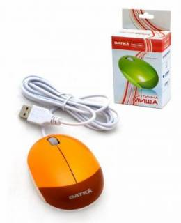 Мышка DATEX DM-03 USB (Orange)