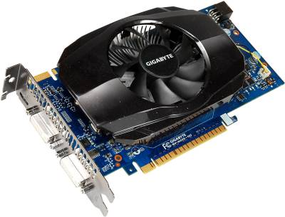 Видеокарта Gigabyte GeForce GTS450 1GB GV-N450-1GI