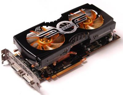 Видеокарта ZOTAC GeForce GTX480 1536MB ZT-40102-10P