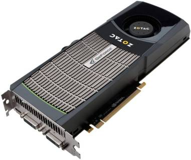 Видеокарта ZOTAC GeForce GTX480 1536MB ZT-40101-10P