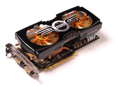 Видеокарта ZOTAC GeForce GTX470 1280MB AMP! ZT-40202-10P