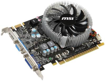 Видеокарта MSI GeForce GTS450 1GB N450GTS-MD1GD3