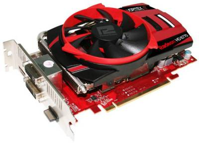 Видеокарта PowerColor Radeon HD6770 1GB PCS+ AX6770 1GBD5-PPVG