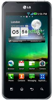 Смартфон Lg Optimus 2X Black P990
