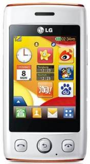 Смартфон Lg T300 (White Orange)