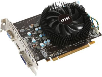 Видеокарта MSI Radeon HD6770 1GB R6770-MD1GD5
