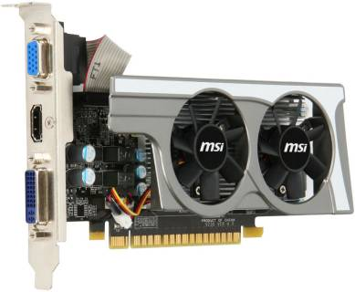 Видеокарта MSI GeForce GT430 1GB N430GT-MD1GD3/OC/LP