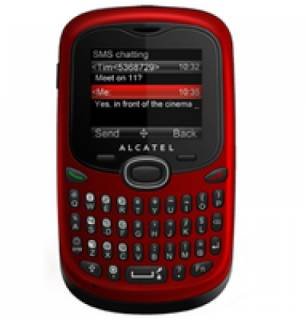 Смартфон Alcatel OT-255D Dual (cherry red) 255D-2AALUA1