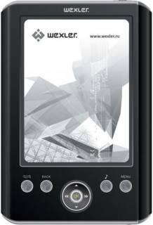 Электронная книга Wexler E5001 4GB (Black-Silver) E5001BS