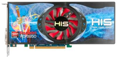 Видеокарта HIS Radeon HD6950 2GB H695FN2G2M