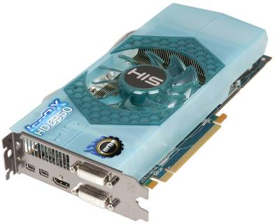 Видеокарта HIS Radeon HD6950 2GB  IceQ H695QNT2G2M