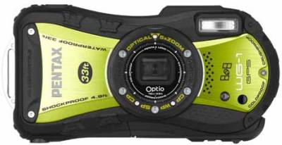 Фотоаппарат Pentax Optio WG-1 GPS (Green) 16912