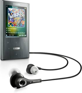 MP3 плеер Philips GoGear Ariaz 4Gb black SA2ARA04K/02