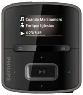 MP3 плеер Philips GoGear Raga 2Gb Black SA-3RGA02BN/02