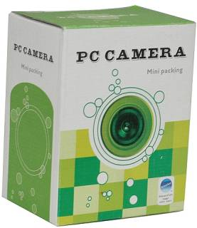 Веб-камера Driverless PC Camera (Black) 612B