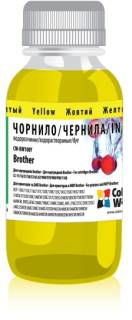 Чернила ColorWay Чернила CW Brother Universal (Yellow) CW-BW100Y01