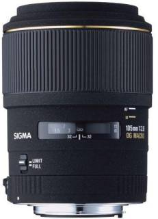 Объектив Sigma 105 mm f2,8 EX Macro DG for Pentax