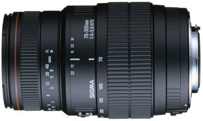 Объектив Sigma 70-300 mm f4-5,6 APO DG Macro for Nikon + Canon Filter 58mm UV HAZE