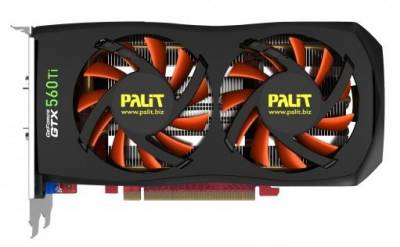 Видеокарта Palit GeForce GTX560Ti 2GB NE5X56T01142-1140F