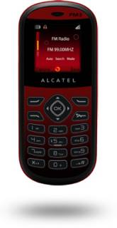Смартфон Alcatel OT-209 (Deep Red) 209X-2AALUA1