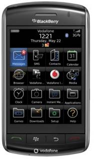 Смартфон BlackBerry Storm 9500 (Black)