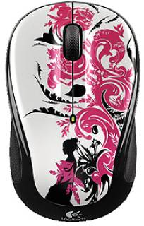 Мышка Logitech M325 Wireless Mouse (Floral Spiral) 910-002410