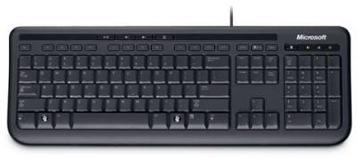 Клавиатура Microsoft Wired Keyboard 600 USB (Black) ANB-00018