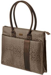 Trust Rome Notebook Carry Bag (Brown) 17038