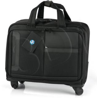 HP Deluxe 4 Wheel Roller Case (Black) XW576AA