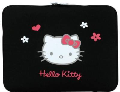 PORT case Designs HELLO KITTY ( Black) HKNE15BL