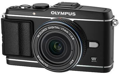 Фотоаппарат Olympus EP-3 14-42 mm Kit black/black V204031BE000