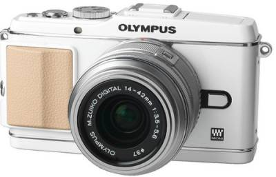 Фотоаппарат Olympus EP-3 14-42 mm Kit white/silver V204031WE000