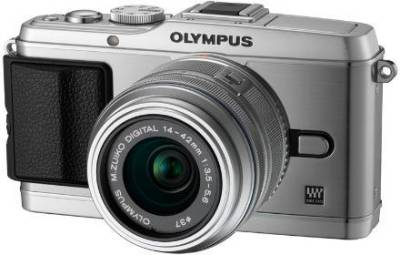 Фотоаппарат Olympus EP-3 14-42 mm Kit silver/silver V204031SE000