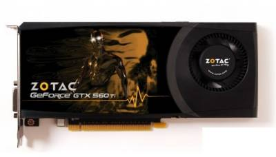 Видеокарта ZOTAC GeForce GTX560 Ti 2Gb ZT-50307-10M