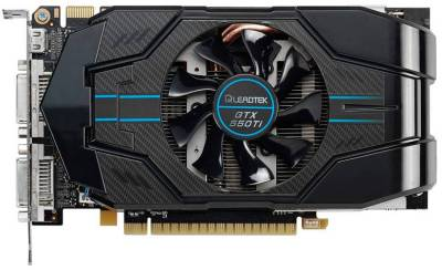 Видеокарта LeadTek GTX550 1GB GTX550Ti_OC_1G_DDR5