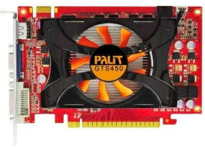 Видеокарта Palit GeForce GTS450 2048M NEAS4500HD41-1162F