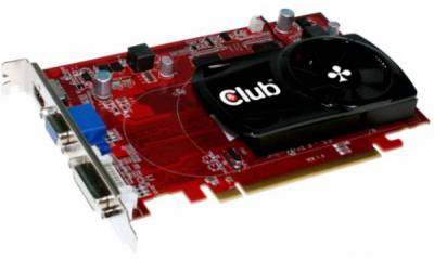 Видеокарта Club-3D HD6570 1024Mb CGAX-65724ZI