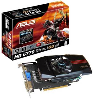 Видеокарта ASUS Radeon HD6770 1Gb EAH6770 DC/2DI/1GD5