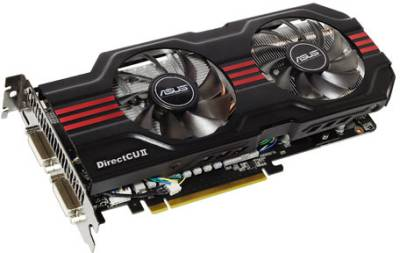 Видеокарта ASUS GeForce GTX560 1024Mb ENGTX560 DCII TOP/2DI/1GD5