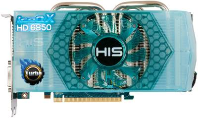 Видеокарта HIS Radeon HD6850 IceQ X Turbo 1Gb H685QNT1GD