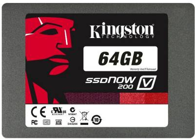 Внутренний HDD/SSD Kingston V200 64GB SV200S3N7A/64G